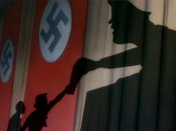 Education for Death movie scenes Both propaganda shorts Disney released in January 1943 Der Fuehrer s Face and Education for Death were the most powerful propaganda the studio ever