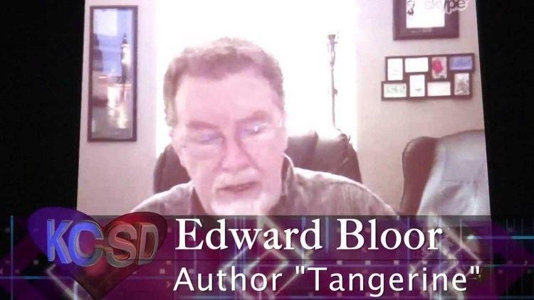 Edward Bloor Tangerinequot Author Edward Bloor Meets with Woodland