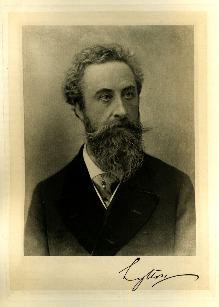 Edward Bulwer-Lytton Earl of Lytton Wikipedia the free encyclopedia