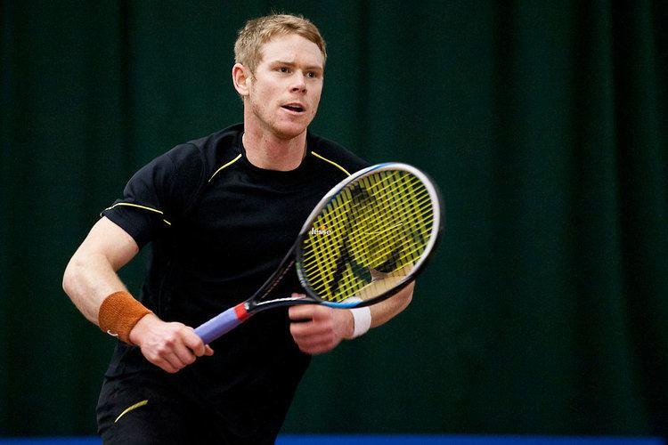 Edward Corrie (tennis) Nielsen beats Corrie in Aegon GB ProSeries final in