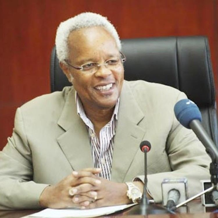 Edward Lowassa TANZANIA FORMER PRIME MINISTER EDWARD LOWASSA OFFICIALLY