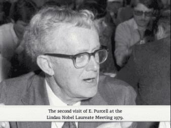 Edward Mills Purcell Laureate Edward Mills Purcell
