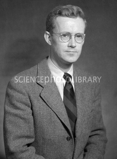 Edward Mills Purcell Edward Mills Purcell US physicist Stock Image H4160370