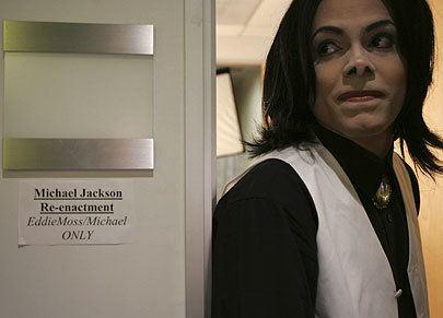 Edward Moss (impersonator) Michael Jackson lookalike gets into character