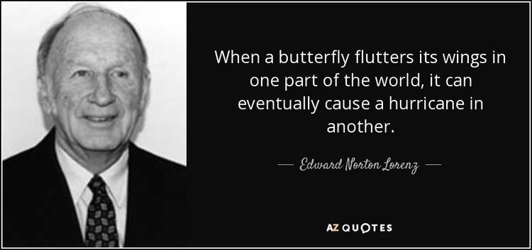 Edward Norton Lorenz QUOTES BY EDWARD NORTON LORENZ AZ Quotes