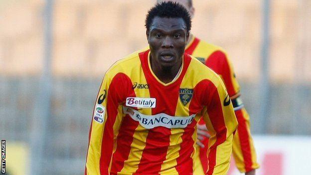 Edward Ofere BBC Sport Edward Ofere Inverness sign Nigerian forward