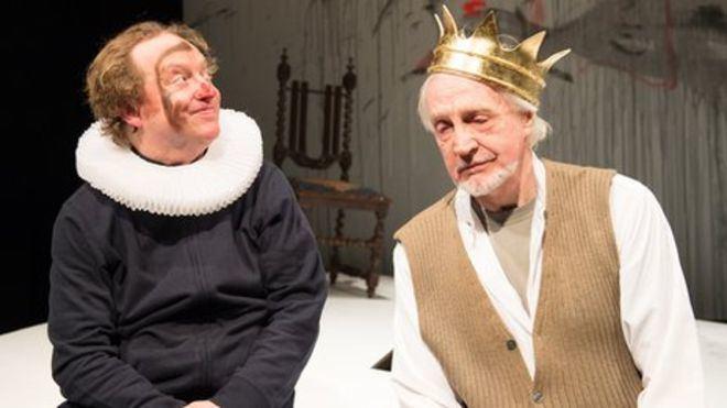 Edward Petherbridge Actor Edward Petherbridge puts stroke story on stage BBC