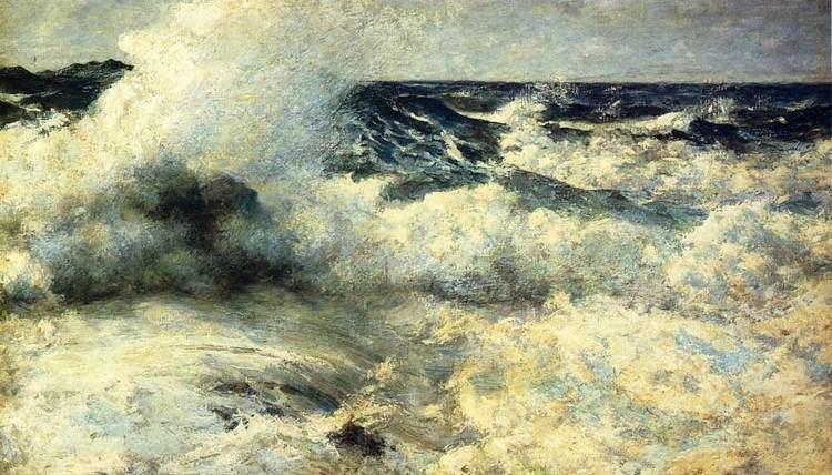 Edward Simmons (painter) FileHigh Sea 1895 Edward Simmonsjpg Wikimedia Commons