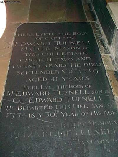 Edward Tufnell Edward Tufnell 1678 1719 Find A Grave Memorial