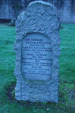 Edward Victor Appleton Edward Victor Appleton Wikipedia