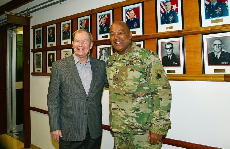 Edwin P. Smith DVIDS Images Lt Gen Ret Edwin P Smith visits at Caserma