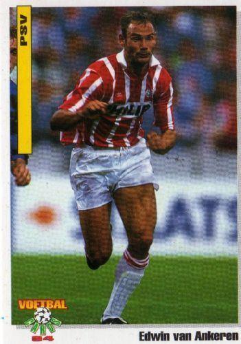 Edwin van Ankeren PSV EINDHOVEN Edwin Van Ankeren 38 PANINI Voetbal Cards 1994