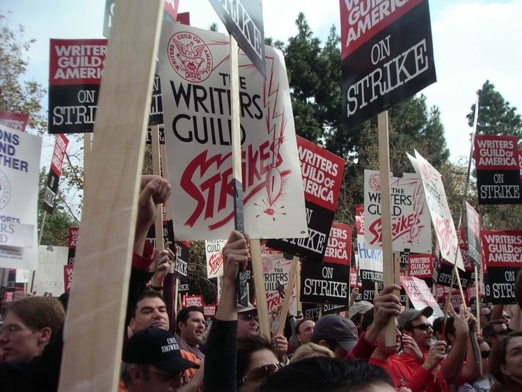 Effect of the 2007–08 Writers Guild of America strike on television