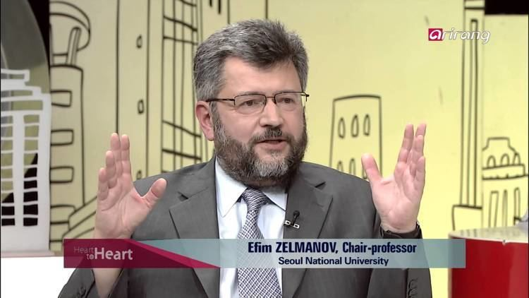 Efim Zelmanov Heart to Heart Ep135 Celebrating Math with the 2014 International