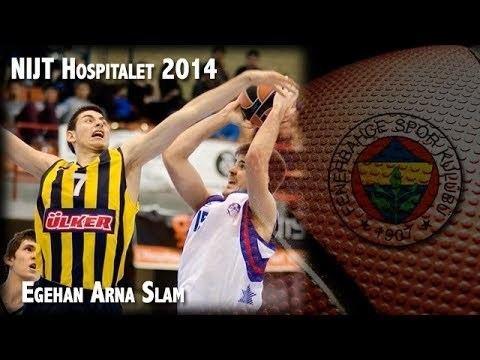 Egehan Arna Egehan Arna Slam Dunk NIJT Hospitalet 2014 Fenerbahce