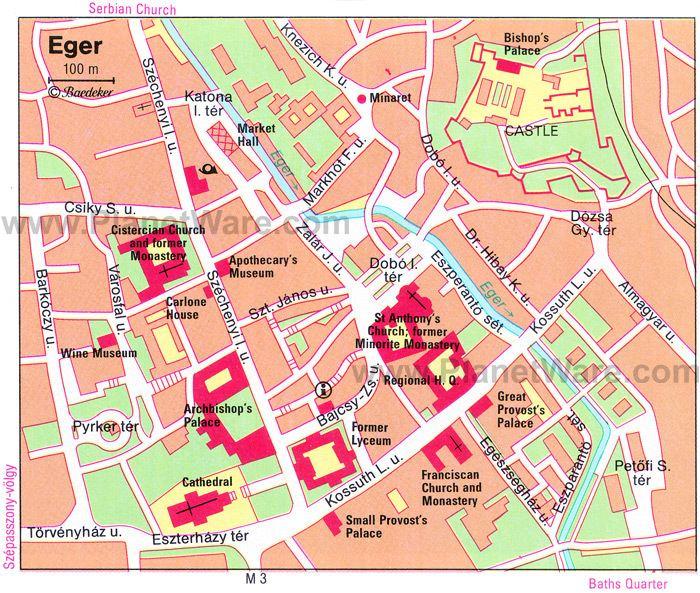 Eger Tourist places in Eger