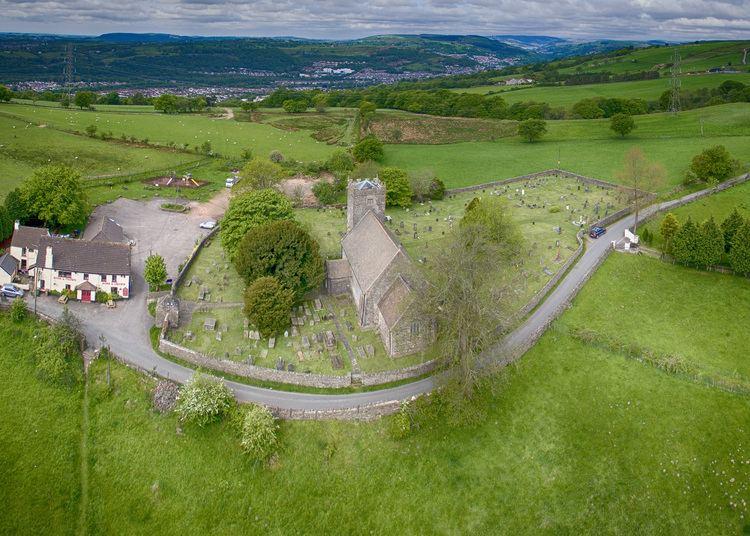 Eglwysilan Eglwysilan Church South Wales DJI Phantom Drone Forum