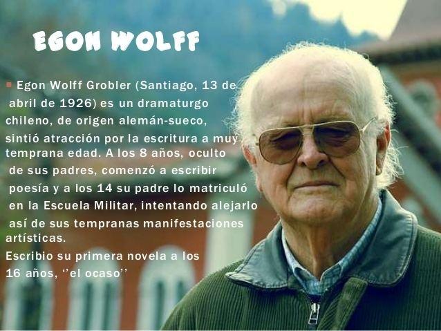 Egon Wolff Los invasores Egon Wolff