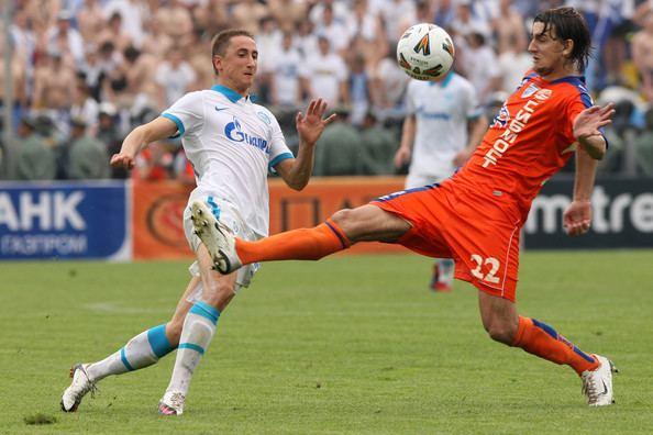 Egor Filipenko Egor Filipenko Pictures FC Zenit St Petersburg v FC
