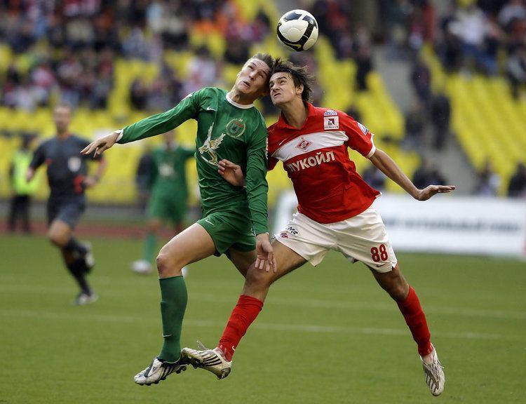 Egor Filipenko Aleksandr Bukharov and Egor Filipenko Photos FC Spartak