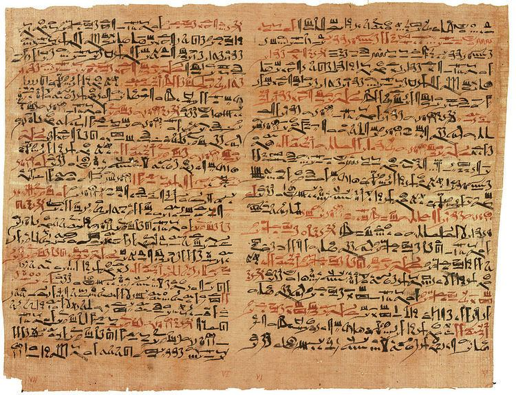 Egyptian medical papyri