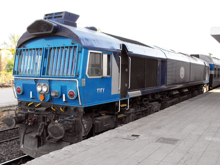 Egyptian National Railways Cairo Alexandria train supply and maintenance contract planned