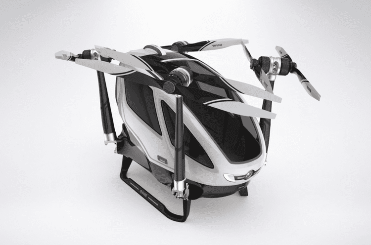Ehang UAV The EHang 184 Is A HumanSized Drone Taking Off At CES TechCrunch