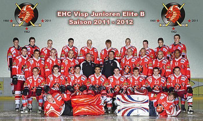 EHC Visp Die Junioren des EHC Visp gewannen die Bronzemedaille in der
