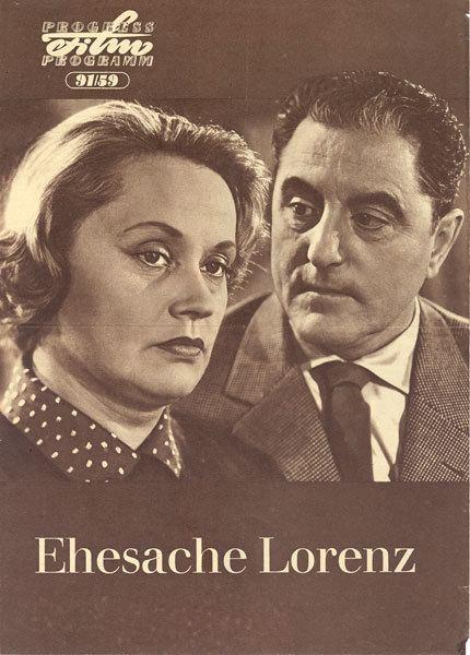Ehesache Lorenz Ehesache Lorenz 1960