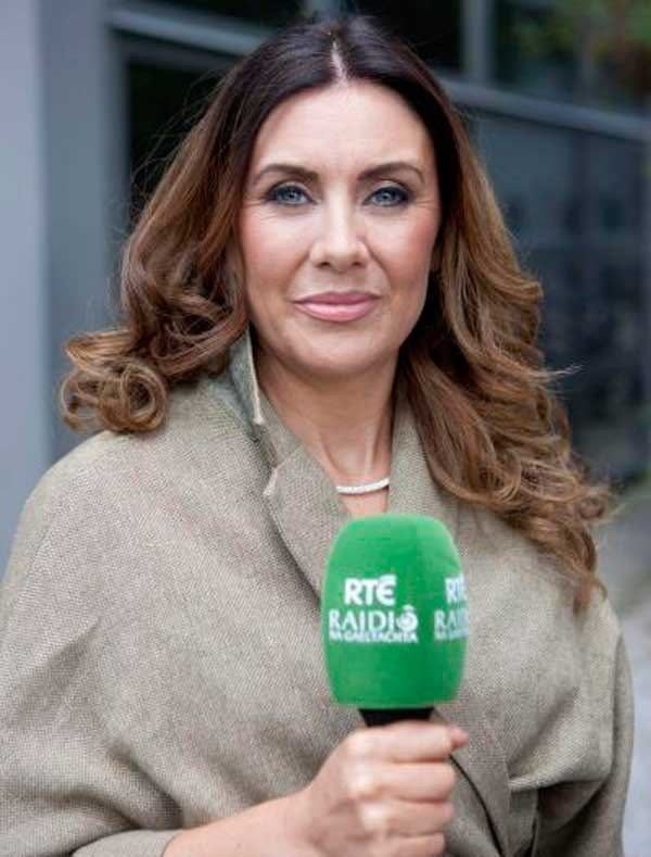 Eibhlín Ní Chonghaile This much I know Eibhln N Chonghaile radio presenter Irish