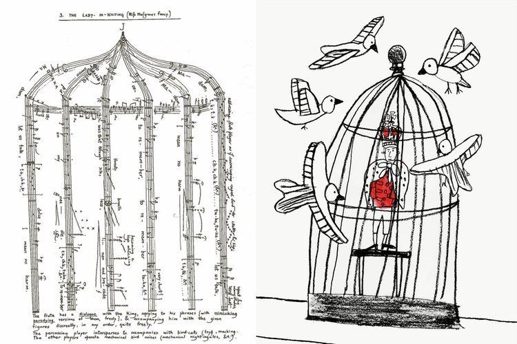 Eight Songs for a Mad King Aurora Orchestra on Twitter quotPeterMaxwellDavies39 amazing birdcage