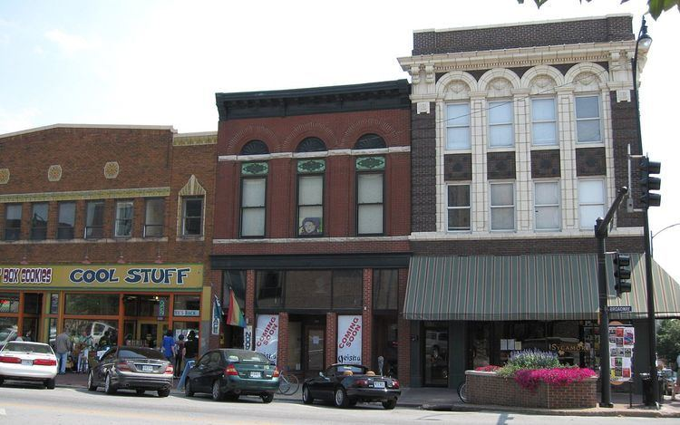 Eighth and Broadway Historic District