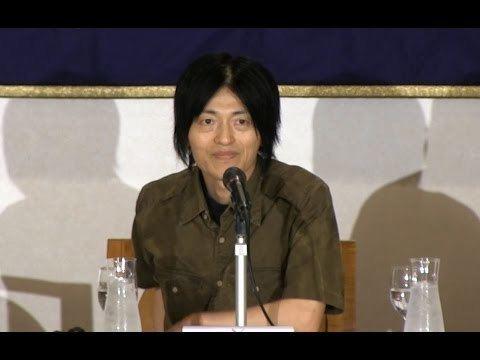 Eiji Oguma Press conference Eiji Oguma with Documentary film quotTell the Prime