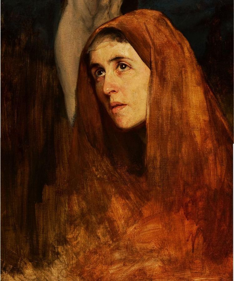 Eilif Peterssen Peterssen Eilif 18521928 1878 Mary Mother of Christ