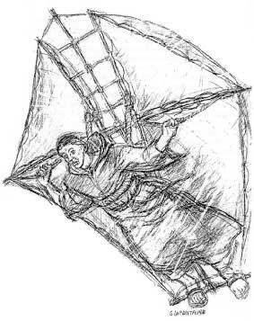 Eilmer of Malmesbury Eilmer The Flying Monk by Athelstan Museum
