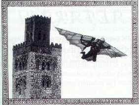 Eilmer of Malmesbury Elmer the Flying Monk a fun poem for kids
