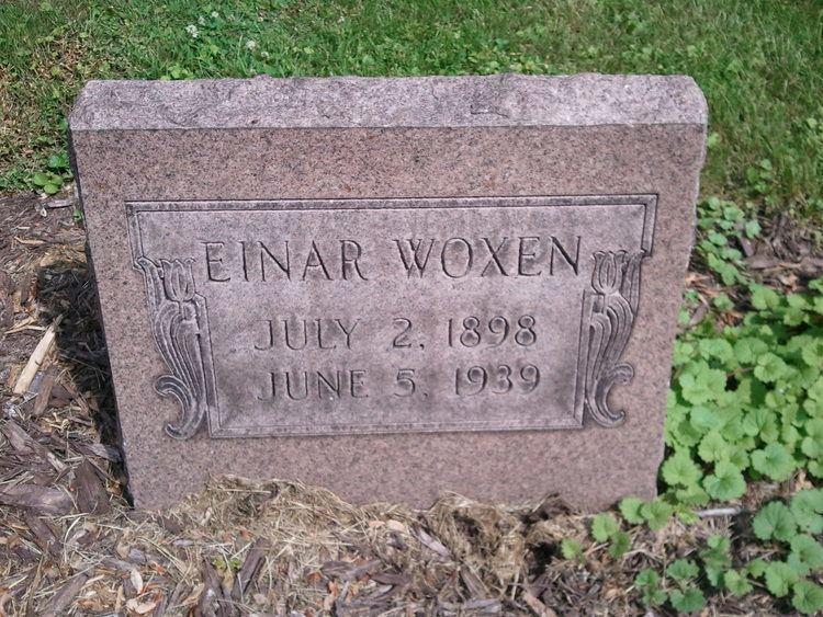 Einar Woxen Einar Woxen 1898 1939 Find A Grave Memorial