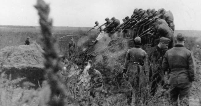 Einsatzgruppen Warfare History Network Killing Squad Nazi Germany39s Einsatzgruppen