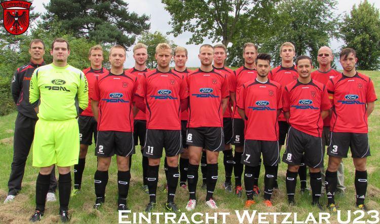 Eintracht Wetzlar SG Eintracht 05 Wetzlar 2 Mannschaft Herren 201415 FuPa