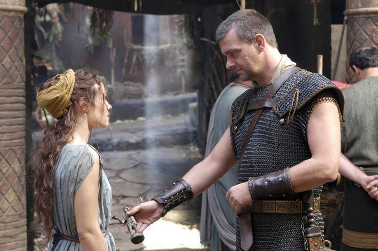 Eirene (Rome character) Such a tender moment between Pullo and Eirene HBO Rome