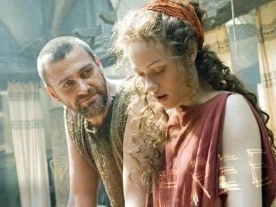Eirene (Rome character) Great couples on Tv Shows Pullo amp Eirene Rome Great Fictional