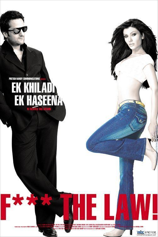 Ek Khiladi Ek Haseena (film) Ek Khiladi Ek Haseena Movie Poster 6 of 10 IMP Awards