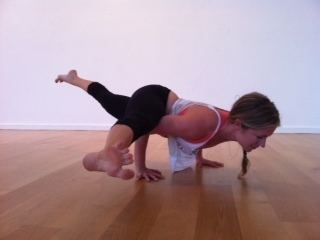 Eka Pada Koundinyasana II Kathryn Budig Challenge Pose Eka Pada Koundinyasana II Arm Balances