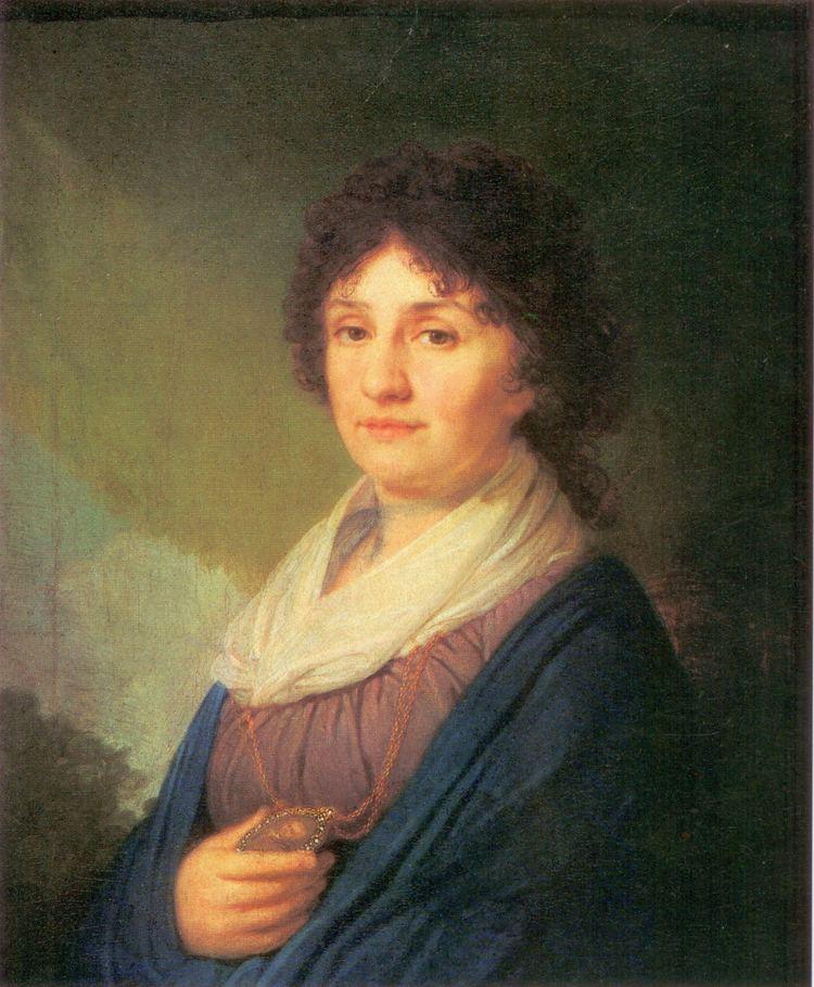 Ekaterina Davydova Ekaterina Davydova 1796 Vladimir Borovikovsky WikiArtorg