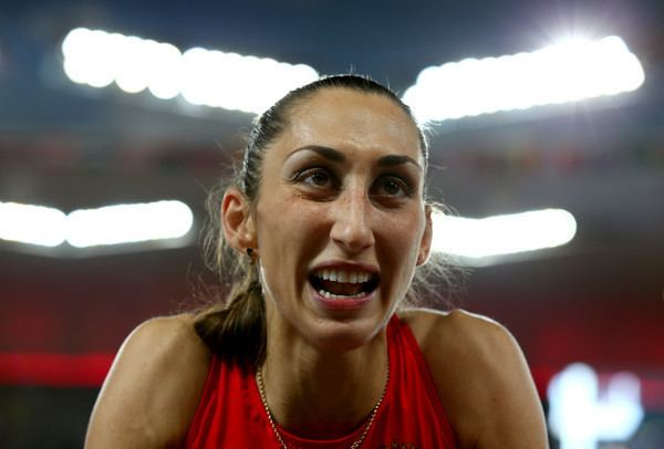 Ekaterina Koneva Ekaterina Koneva Photos Photos 15th IAAF World Athletics