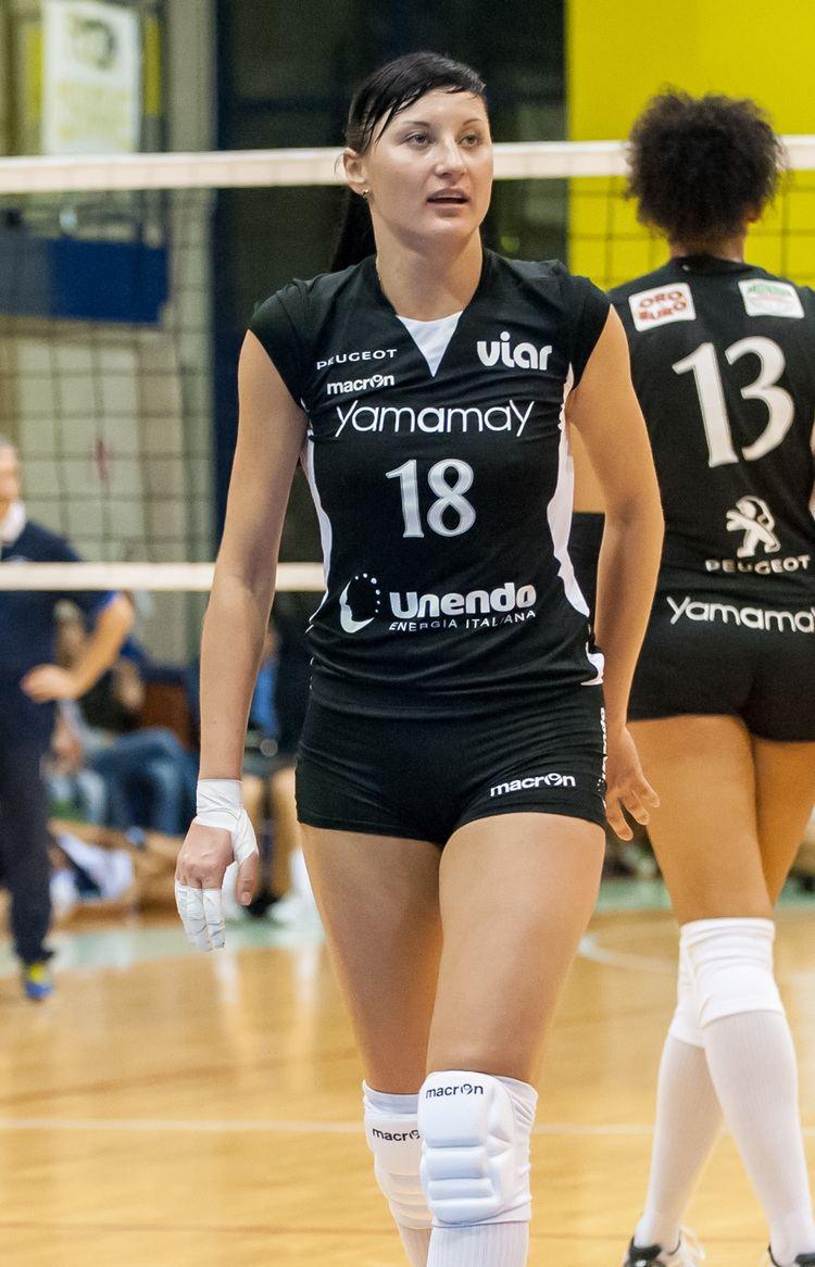 Ekaterina Lyubushkina CEV Confdration Europenne de Volleyball