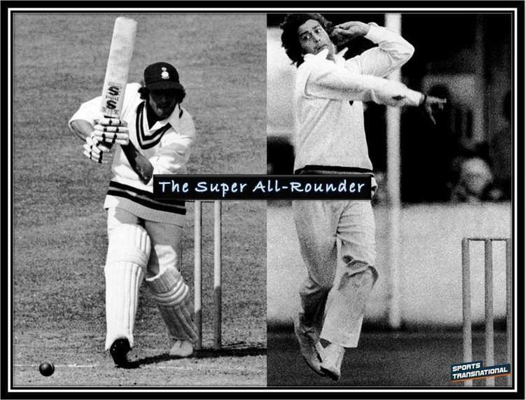 Eknath Solkar (Cricketer) playing cricket