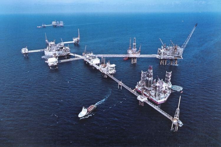 Ekofisk oil field NORWAY EKOFISK FIELD