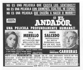 El Andador movie poster