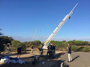 El Arenosillo Lanzado desde El Arenosillo el cohete instrumentado Stratos II